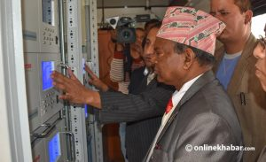 Lalbabu Pandit wants to open air quality monitoring stations across Nepal