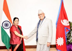 Oli-Swaraj meeting: India finally accepts constitution, congratulates left alliance for victory