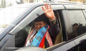 Gandaki CM Gurung leaves for UK