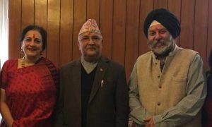 Indian Ambassador meets PM Oli 'for Holi celebration'