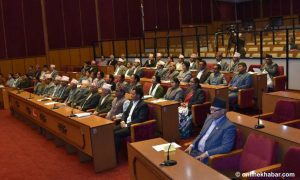 Nepali Congress obstructs National Assembly meeting