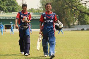 Nepal beat Paupa New Guinea by 2 wickets