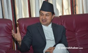 Leaders themselves have not signed up for social security scheme: Minister Bista