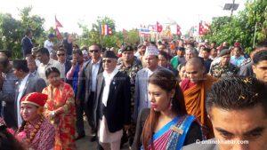 On Buddha Jayanti, Nepal PM proposes railway to connect three key locations of Buddha's life