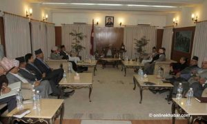 UML Standing Committee meeting to discuss Maoist Centre's 50-50 demand