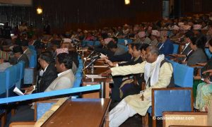 Nepali Congress warns of obstructing Parliament over suspension proposal
