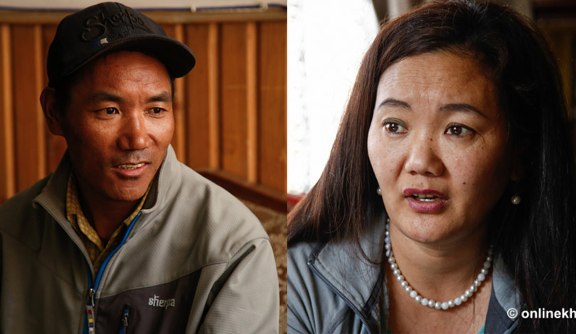 Two Sherpas break own Everest records