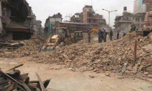 Kasthamandap reconstruction finally begins
