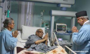 Govt to cover costs of Rastrakabi Madhav Prasad Ghimire's treatment