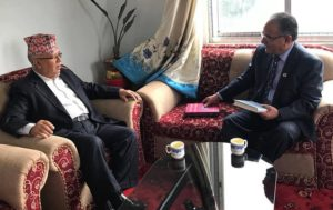 Dahal, Nepal hold meeting to discuss party unification issues