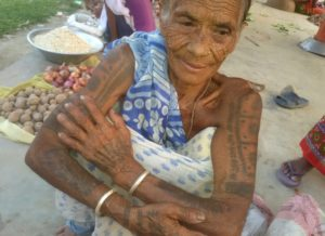 Nepal's indigenous Tharu at risk of losing art of tattooing