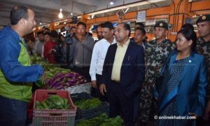 Agriculture Minister assures to end syndicate system in Kalimati vegetable market
