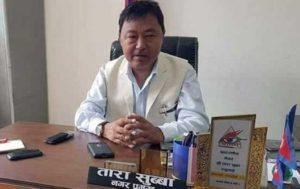 Dharan Mayor Subba's final rites on Saturday