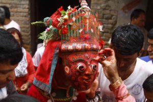 This man has been 'the god' for locals of small Bhaktapur town for last 60 years