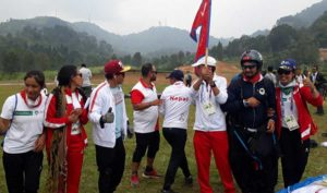 Nepal wins silver at the Asian Games