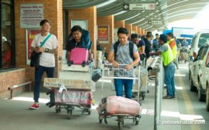 '534,000 Nepalis want to return home from other countries immediately'