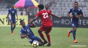 Nepal lose SAFF semifinal to Maldives