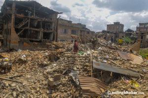 Sankhu monuments still awaiting reconstruction