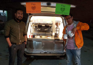Coffee2GoNepal: Nepal's pioneer mobile coffee shop aims at serving coffee for everyone