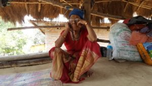 Conversation with one of the last speakers of Kusunda, a dying Nepali language