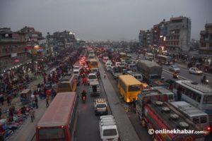 Traffic jams cost Kathmandu Rs 116 billion a year: Study