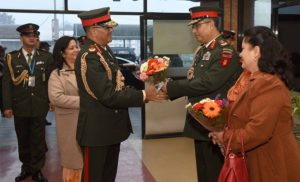 Nepal Army chief in India to receive honorary title