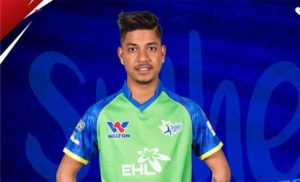Sandeep Lamichhane conferred with Breakthrough Star title in CPL