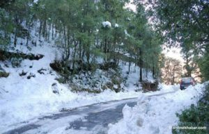 Westerly low-pressure system to bring rain, snowfall to western Nepal
