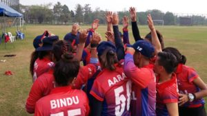 Women's T20 Qualifier: Nepal register easy win over UAE