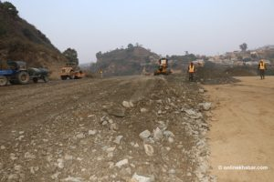 Fast track: Nepal Army completes 25% construction works as half of the allocated time is over