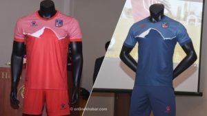 New jerseys for Nepal national football team