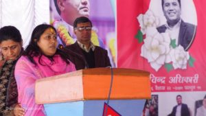 Kaski bypoll: Pressure mounts on Rabindra Adhikari's wife to get ready