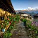 Ghandruk, popular destination for tourists in Nepal, bars visitors for 1 month