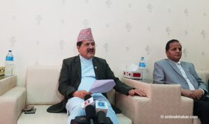 'Failing to please Oli after House reinstatement', Attorney General Kharel resigns