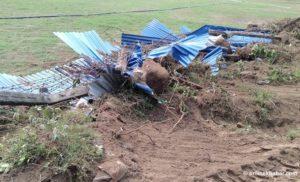 After locals' obstruction, Dhurmus and Suntali halt stadium construction