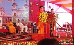 Janaki Nawami: President visits Janakpur, stresses educating girls