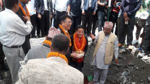 Govt launches new water supply project in Pokhara