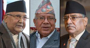 Oli and Dahal meet Nepal before secretariat meeting
