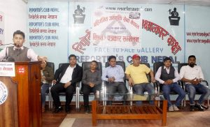 Disqualified Maoist combatants press govt to meet demands, warn of taking case to The Hague