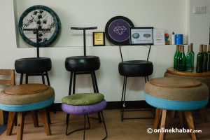 Tyre Treasures: This startup upcycles trash tyres to make furniture items
