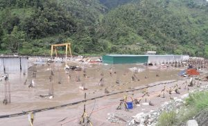 Dhading flood damages Chinese investors' cement factory