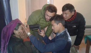 Nepal's ophthalmic researchers pin hopes on handheld mobile devices to serve rural population