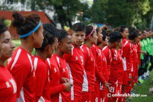 Nepal's women footballers begin preparations for SAG