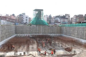 Dharahara construction: 30% works over