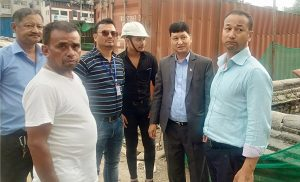Kathmandu mayor directs officials to speed up Dharahara construction