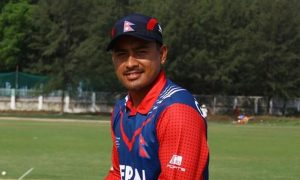 Nepal squad announced for tri-nation series