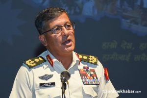 Will act tough to cure Nepal Army of its cancer, says CoAS Thapa