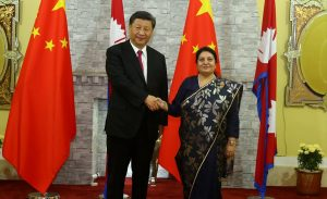President Bhandari holds phone conversation with Xi Jinping