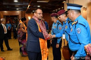 Nepal Police chief off to Chile to attend Interpol general assembly