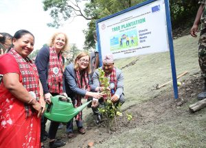 EU partners with Madhyapur Thimi to promote greenery
